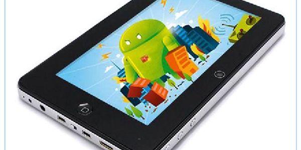 """Android TABLET 7"""" Multi-Touchscreen / WiFi + G-Sensor + HDMI + Flash 10.1 + Camera - nyní ušetříte 800,-Kč na Vašem nákupu!"""