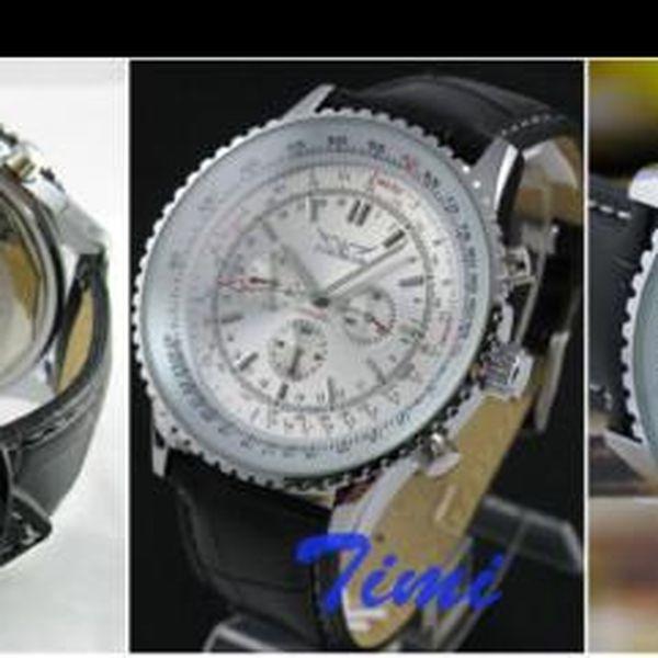 Stylové luxusní pánské automatické hodinky Jaragar Timi Automat B3 za pouhých 749,- Kč! Získejte jedinečný pánský doplněk nyní se slevou 58 %!