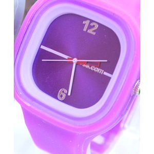 Moderní silikonové hodinky JELLY v různých barevných variantách. Za málo peněz hodně hodinek!