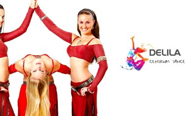 Půlročí kurzovné (celkem 22 hodin) s 50% slevou na BŘIŠNÍ TANCE PRO ZAČÁTEČNICE v taneční škole DELILA v centru Zlína. Využijte této skvělé nabídky a učte se od profesionálky ve svém oboru. Taneční škola DELILA je zárukou kvality!
