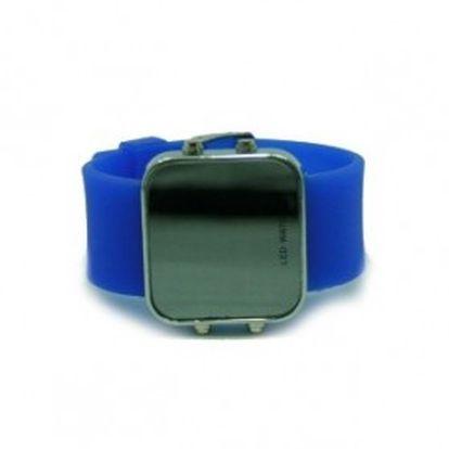 Naprosto praktické a stylové LED hodinky se silikonovým páskem. Vyberte si barvu zrcadlových LED hodinek, která vám sluší!