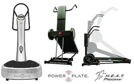 Rychlý úbytek váhy na POWER PLATE a H.A.E.T., akce 5+5 s 30% slevou za 525 Kč