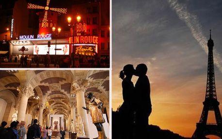 Romantický 5-dňový zájazd do PARÍŽA s hotelovým ubytovaním od Adria Travel! Eiffelovka, Moulin Rouge, Champs Elysées, Disneyland, Versaillské záhrady či plavba loďou po rieke Seina! Príďte sa pokochať krásou tejto majestátnej metropoly so zľavou až 30%!