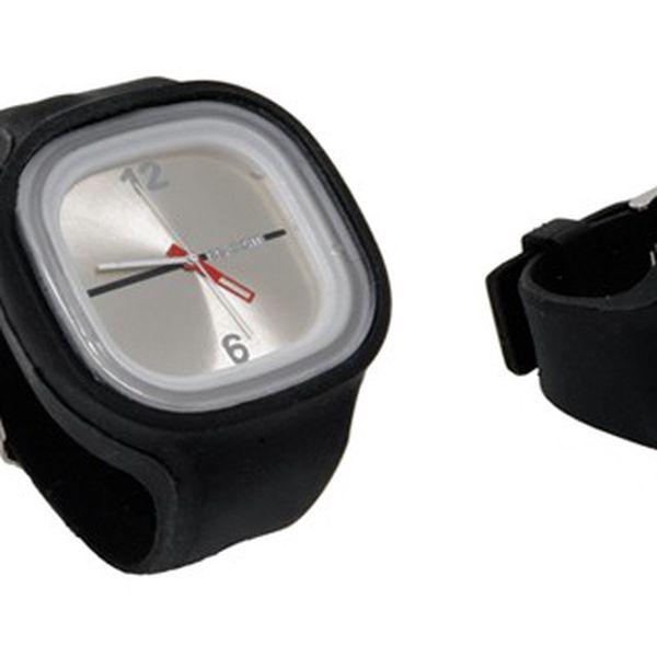 Jelly silikonové hodinky v černé barvě jen za 99 Kč, elegantní analogové hodinky pro všechny s poštovným jen za 25 Kč!