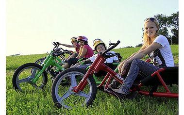 Adrenalin a Wellness na 3 dny (2 noci) 3x jízda na terénní horské tříkolce a masáž pro každého jen za . . . 2499,-