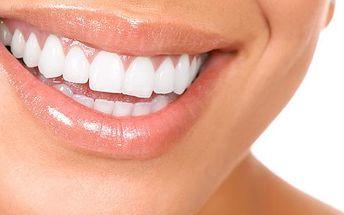 83% sleva na Profesionální bělení zubů nejefektivnější a zcela bezpečnou metodou X-PLOSIVE SMART LIGHT EXPORT! Dosáhnete zářivého úsměvu za pomoci intenzivního modrého studeného světla, v kombinaci s bělícím gelem. Bez rizik a bez bolesti!