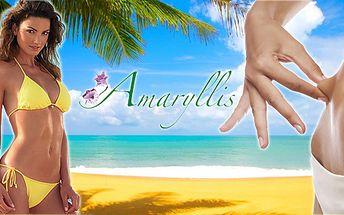 Žádaná SENDVIČOVÁ metoda Amaryllis. Ověřený vítěz nad celulitidou, lipedémem, povadlou kůží! Do léta bez faldíků a huráá do plavek!