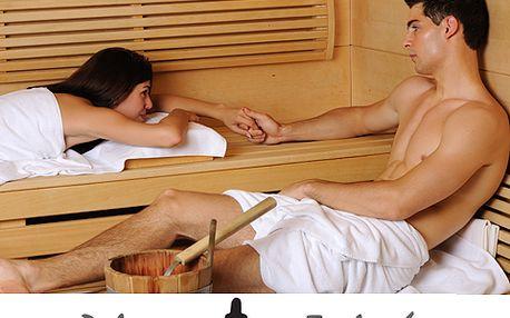Romantická sauna pro dva s 50% slevou! 90 minut jen za 290 Kč!
