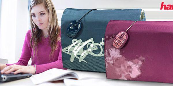 549 Kč za stylovou tašku na notebook a optickou myš pro mladé a aktivní lidi. Růžová a modrozelená. Kvalita od značky Hama se slevou 35 %.