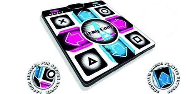 Populární taneční podložka se slevou 76%. Nejoblíbenější hra roku 2011! ZDARMA k objednávce hra Stepmania!