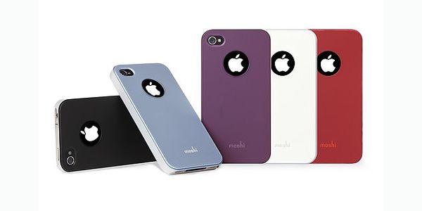 Stylový kryt Moshi iGlaze 4 za 199 Kč vytvoří z každého iPhonu skvělý doplněk. Kryt lze měnit a tak si můžete objednat více kusů a měnit barvy dle momentálního rozpoložení!