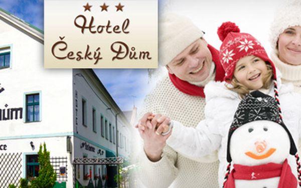 UBYTOVÁNÍ V CHOMUTOVĚ s 52% slevou!! 2 noci pro 2 osoby v Hotelu Český dům, polopenze a masáž jen za 1 599 Kč!! 50 km od Skiareálu Klínovec!! Ušetřete s námi 1 701 Kč!!