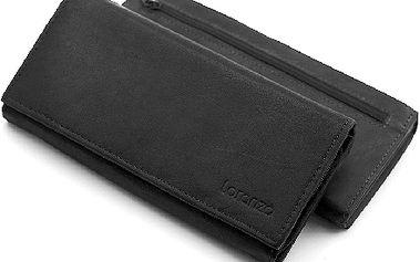 Dámská KOŽENÁ peněženka Loranzo s vaším TEXTEM ! Super dárek