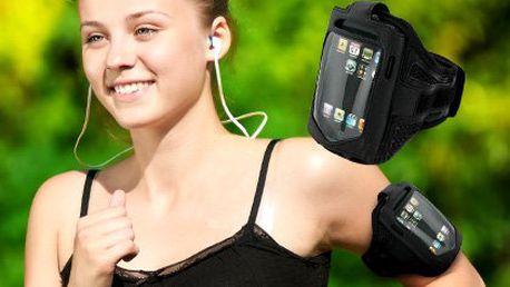 Sportovní ultralehké neoprenové pouzdro na telefon, přehrávač, peněženku nebo doklady. Ideální pro běžce a inline bruslaře, exkluzivní cena 199 Kč!