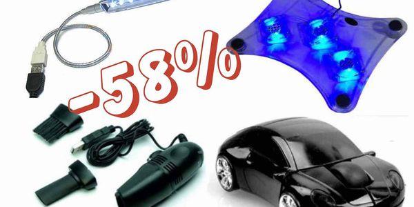 Čtyřdílná sada pro všechny počítačové nadšence!! Nejlepší příslušenství pro PC a notebooky se slevou 58%.