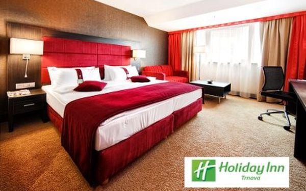Víkend pro dva ve 4* hotelu Holiday Inn v centru Trnavy – plná penze, uvítací drink a vstup do Wellness & Spa centra v ceně. Děti do 12 let zdarma