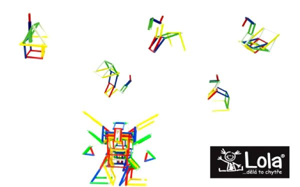 """Příjemná nová hračka, která nabízí spousty možností. 3D puzzle JELIKU jen za 99,- Kč. Zabavíte se na dlouhou dobu Vy, ale hlavně i Vaše ratolesti. Toto 3D puzzle zastává myšlenku """"Jednoduchý nápad -> tisíc možností""""."""