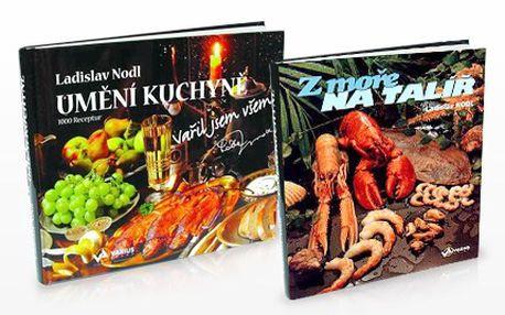 """Inspirujte se KUCHAŘKOU při vaření! Recepty, které Vám život okoření. 63% sleva na kuchařku od Ladislava Nodla, mistra svého oboru s názvem """"Umění kuchyně – vařil jsem všem"""" a k tomu druhá publikace zdarma."""
