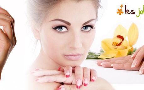 Dopřejte si ošetření Vašich rukou a nehtů. Na výběr ze dvou procedur: manikúra + wellness zábal rukou nebo manikúra + p-Shine na nehty!