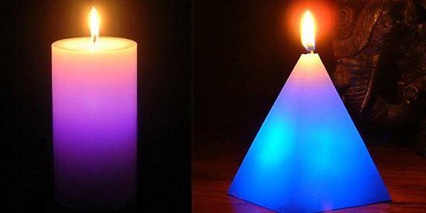 BRNO - Jen 99 Kč za kouzelnou svíčku. Svíčka při zapálení mění barvy – originálně navodí romantickou atmosférou se slevou 55 %!