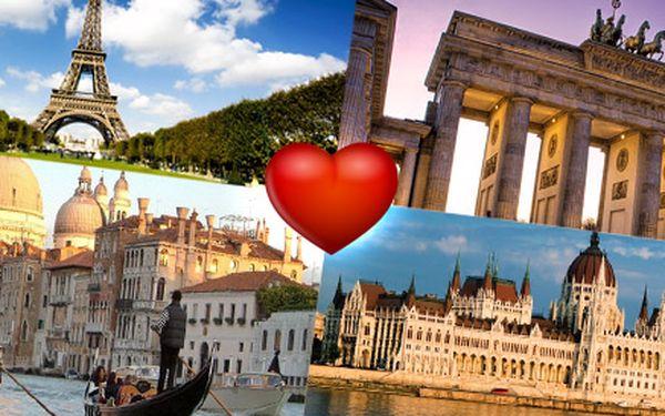 2399 Kč za romantický zájezd do Verony a Benátek včetně ubytování ve 4* hotelu. Nabídka nejen pro zamilované a na výběr i Berlín, Budapešť či Paříž.