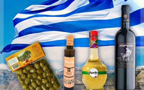 Jen 299,- Kč za balíček řeckých specialit! Proměňte váš domov v slunné Řecko. Sleva 43 %!
