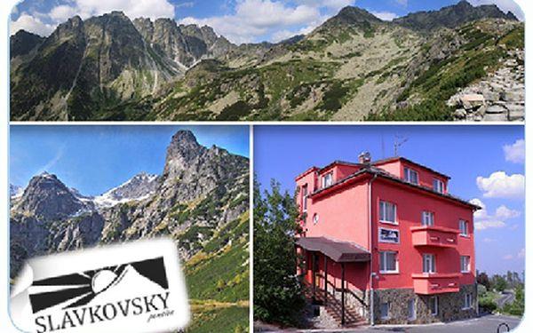 5 dní 4 noci - Relaxační pobyt ve Vysokých Tatrách pro 1 osobu. Najděte si několik dní času a nebudete litovat.