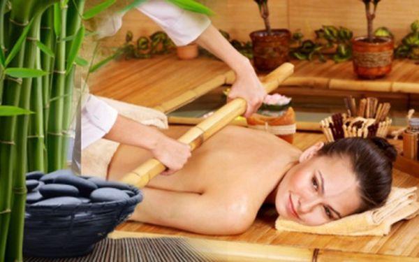 Novinka ve světě spa a wellness - bambusová masáž! Oddejte se s námi exotické relaxaci se slevou 76%! Užijte si 45 minut netradiční masáže za 355 Kč!