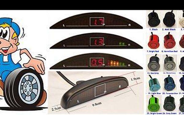 1 399 Kč za montáž parkovacích senzorů na automobil, přední i zadní část s 44% slevou a možností zakoupení parkovacího zařízení s 10% slevou.
