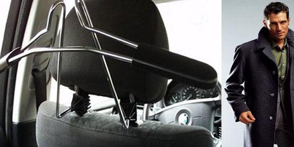 Chromový věšák na oblečení do auta za skvělou cenu 349 Kč! vč. POŠTOVNÉHO !! Konec pomačkaného oblečení z cest!!