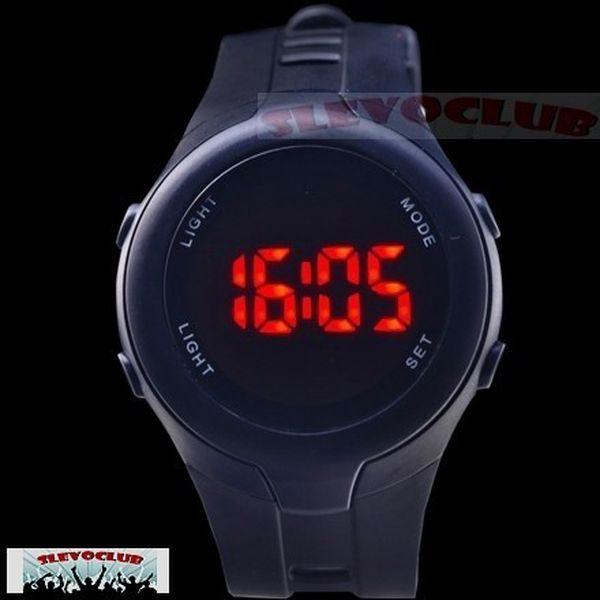 Jen 149,- Kč černé nebo bílé LED hodinky Unisex!
