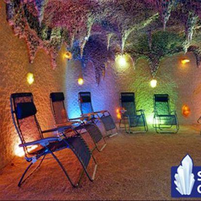 Vstup pro 2 osoby, nebo 2 vstupy pro 1 osobu do nejúčinnější SOLNÉ JESKYNĚ v Praze s 50% slevou! Dopřejte sobě a svým blízkým relaxaci a příjemné dýchání!