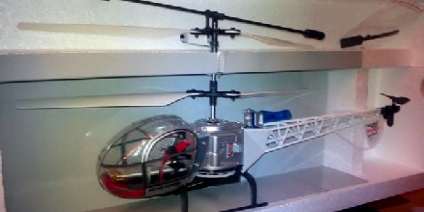 AKCE ! Jen 510,-Kč za RC vrtulník Huan Qi HQ 813C na dálkové ovládání o délce 37cm !