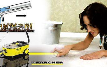 Zbavte se nečistot (skvrn, špíny, zápachu...), které běžný vysavač a přípravky nevyčistí. Profesionální čištění koberců strojem KARCHER za více jak poloviční slevu!