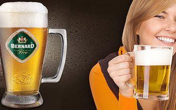 69 Kč za PĚT nefiltrovaných ležáků Bernard 12° v Baru Indián. Pivo, co má říz, se slevou 52 %.