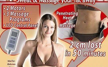 S jedinečnou slevou 72% získejte Velform Sauna Masáže, který účinně bojuje s tukem, protože kombinuje sauna proceduru s masáží a to vč. POŠTOVNÉHO