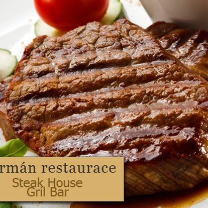 800 g šťavnaté speciality s 63% slevou! Pochutnejte si na kuřecím nebo vepřovém mase z lávového grilu