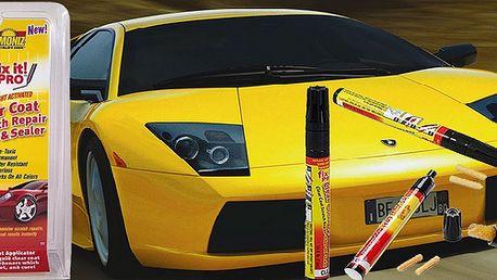 Korekční tužka na lak - Fix It pro! Snadno zacelí a zneviditelní škrábance laku auta jakékoli barvy. Šetří čas a peníze!