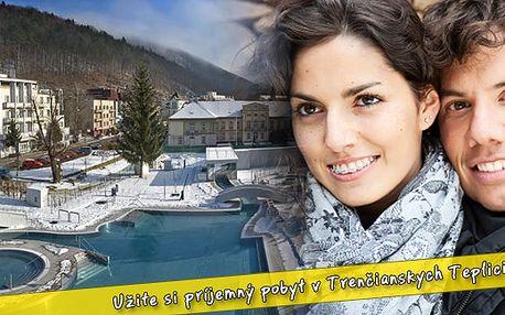5 denní pobyt nebo víkendový relaxační pobyt pro DVĚ osoby v hotelu Margit*** již od 3100 Kč. Nechte se hýčkat přímo v centru lázeňského města Trenčianske Teplice na Slovensku!
