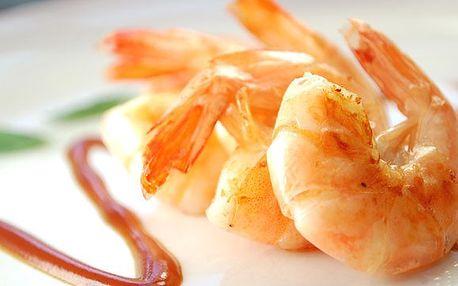 249 Kč za 30 KUSŮ TYGŘÍCH KREVET za úžasnou cenu v Pizzeria Cappuccini Restaurant! Tygří krevety připravované na 4 různé způsoby s filipínskou, zázvorovou a česnekovou omáčkou. Vychutnejte si UMĚNÍ ŠÉFKUCHAŘE Jaroslava Havla, finalisty soutěže Na Nože!