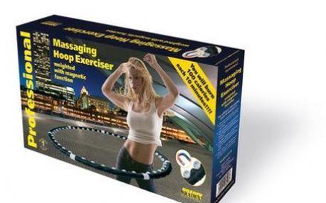 Nejlepší pomocník při hubnutí a zpevnění spodní části těla Massaging Hoop Exerciser obruč se slevou 50%. Vhodný pro školení Pilates a také pro domácí použití.