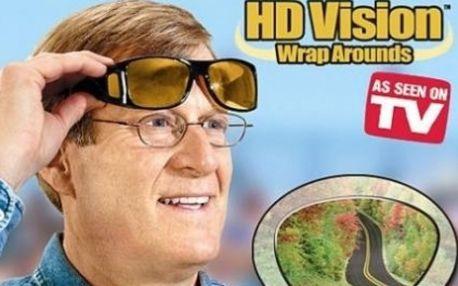 Novinka!!! HD VISION - brýle nejen pro řidiče s bezkonkurenční slevou 63%. Zvyšují kvalitu a jasnost barev jako NIKDY předtím. 100% ochrana proti UV záření!
