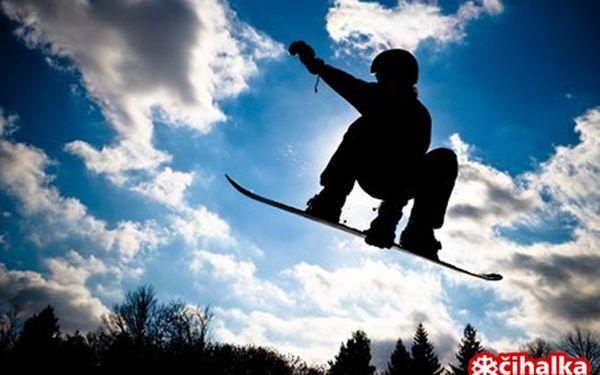 Čtyřdenní pobyt pro 2 osoby s plnou penzí, lyžařským vybavením a skipasy za 3409 Kč!