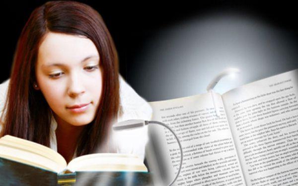 Praktická lampička na knihu za bezkonkurenčních 69 Kč! Pro všechny, co se nedokáží od knihy odtrhnout ani po setmění. Nekažte si zrak a vyzkoušejte tuto senzační lampičku se slevou 54%!