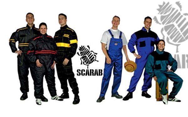 SPECIÁLNÍ NABÍDKA NA PRACOVNÍ ODĚVY! 40% sleva na pohodlné, kvalitní a funkční oděvy, díky kterým se budete v práci cítit lépe! Zimní a letní kombinézy, kalhoty, obleky. TO PRAVÉ PRO VAŠI PRÁCI od firmy Scarab!