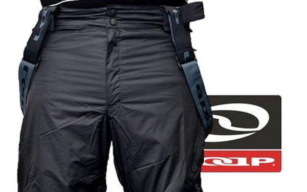 Pánské lyžařské kalhoty Loap – v šedé nebo černé barvě, odvádí vlhkost z těla, neprofoukne a nepromokne, odepínací šle s nastavitelnou délkou