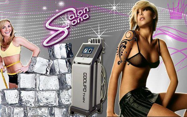 Půlhodinová kryolipolýza certifikovaným přístrojem na trhu coolipo-twin!!! Přímo v samém centru prahy v salonu soňa pošlou vaše tukové buňky rovnou k ledu! Efektivně a bez yoyo efektu! Navíc se slevou 95% je to skoro zadarmo!!