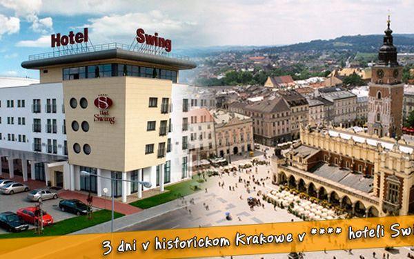 Krakow - 3 dny ve 4* hotelu pro DVOU jen za 2990 Kč včetně konzumního 620 Kč v hotelovém baru! Užijte si historii, romantickou atmosféru, wellness, saunu, vstup do aquaparku a mnohem více!
