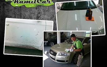 51% sleva na mytí vozidel včetně odstanění asfaltu, rzi, kovových náletů. Dále ochrana karoserie polymerovou pastou v ceně!