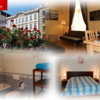Dva dny v krásném apartmánu v Praze jen za 1530 Kč! Přímo na Václavském náměstí!